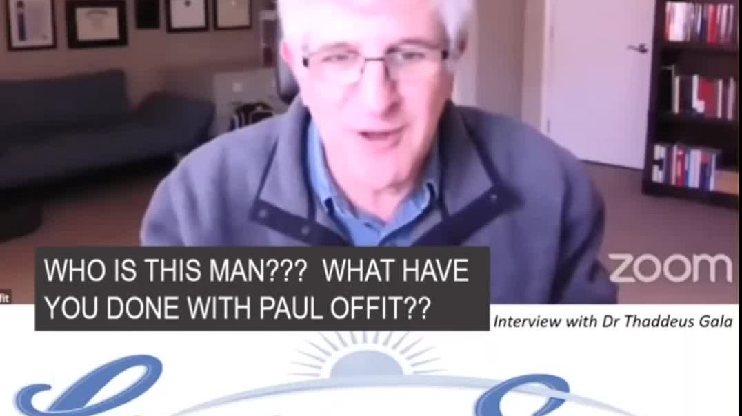 Paul Offit Video admitting vaccines can cause harm
