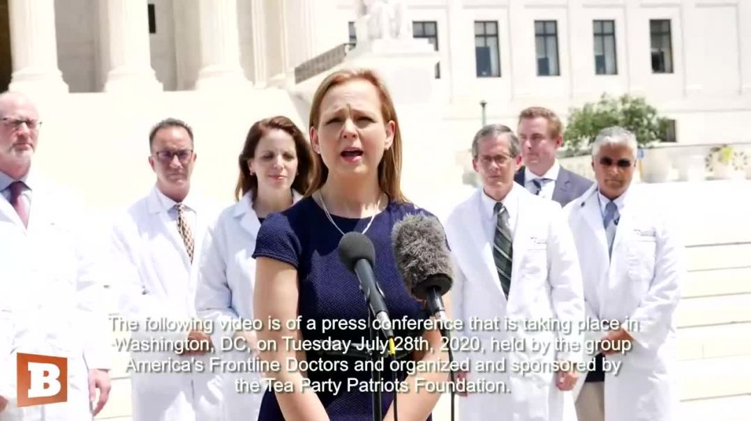 1 Silenced Frontline Doctors Hold Capitol Hill Press Conference to Challenge Big Tech