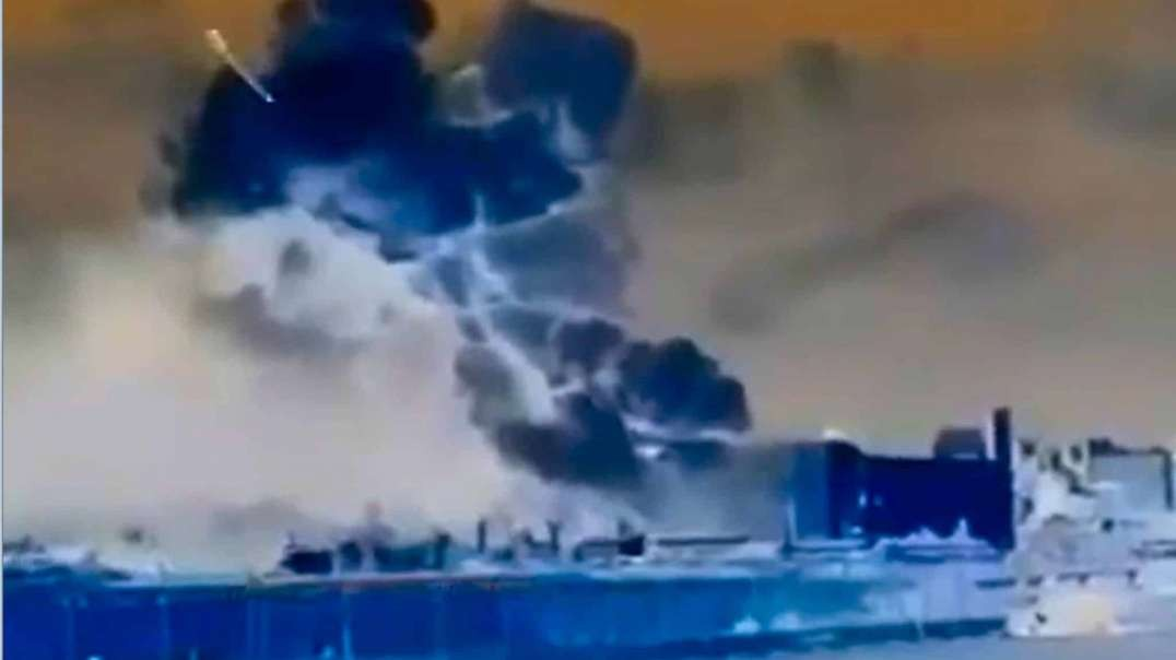 Beirut Lebanon see the missile hit??  黎巴嫩貝魯特被導彈擊中了嗎?看到了嗎?
