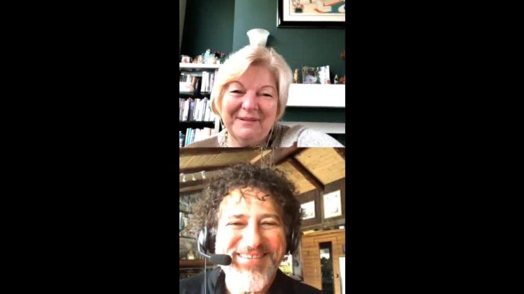 Dr. Sherri Tenpenny on Instagram with David Avocado Wolfe