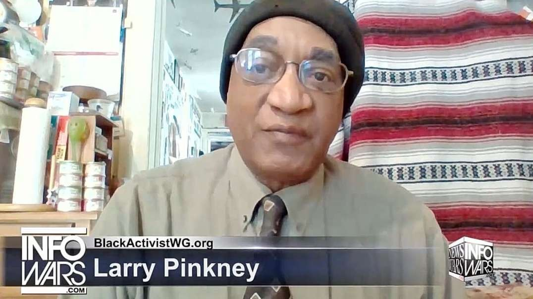 Larry Pinkney: A race war to divide and conquer the nation [Chinese subtitle] 賴瑞·平克尼:深層政府民主黨人煽動種族戰爭