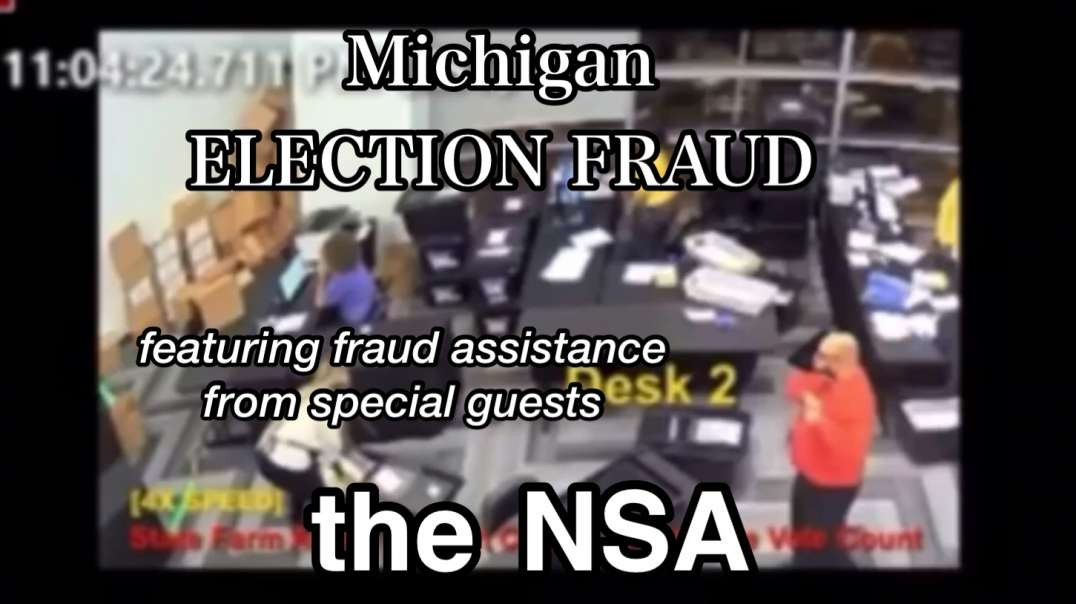 Giuliani in Michigan : VIDEO -> Mass Election Fraud -> NSA Corruption