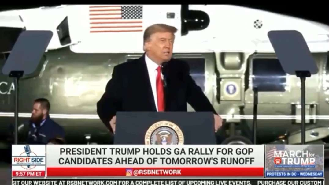 Trump in Georgia — Part One — Recorded LIVE : one hour ago